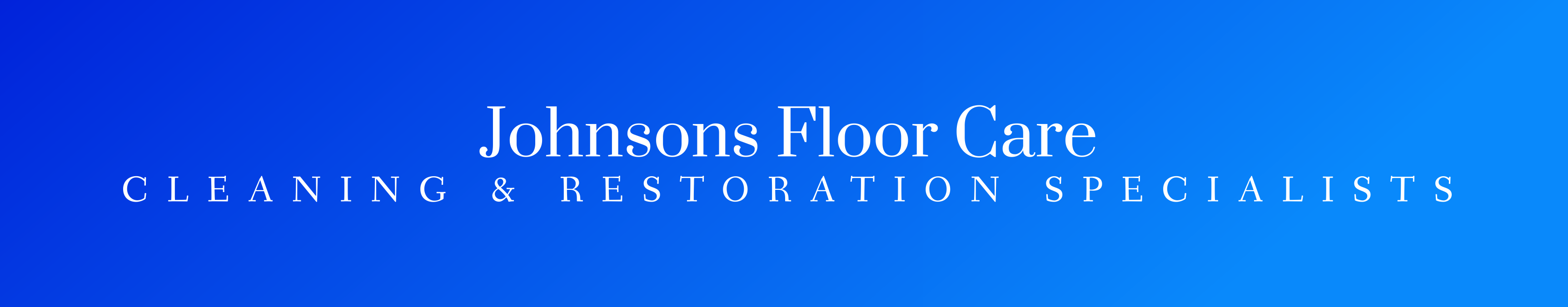 Johnsons Floor Care